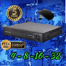 CCTV CAMERAS 16 CHANNEL DVR 1080P REAL TIME HD
