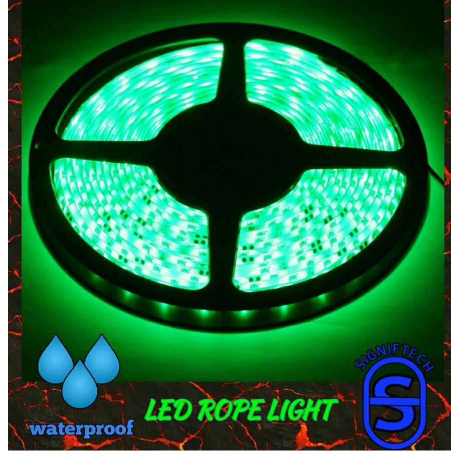LED FLEXIBLE LIGHT STRIP WATERPROOF HIGH QUALITY :GREEN