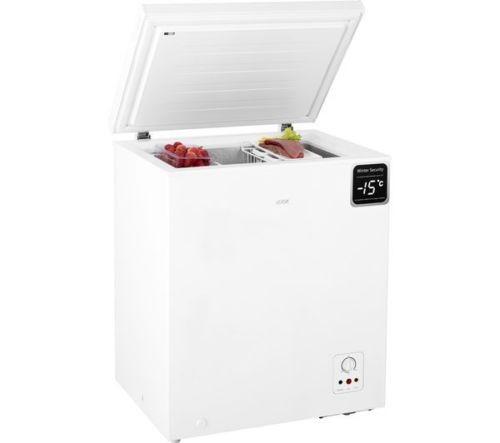 Chest Freezer New 139 litres – White